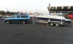 We are selling our 2012 Hurricane 188 I/O. It is blue and white with a matching snap-on cover and blue canopy. It has a three-foot rear deck that is just inches above the water. It comes with a 4.3 Chevy V-6 with 210 horsepower and only 40 hours in only