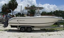 Twin 225 Yamahas OX66, T- Top, 10 rocket launchers, multiple rod holders, Furuno GPS 1650 Color, Furuno Color fishfinder, AM/FM/CD with remote,Owner's Books, Full mooring Cover, Yamaha fuel management system, trim tabs, marine head, forward dodger with