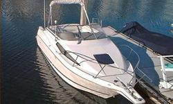 Here is a tenderly treated, original owner, Northwest cruiser for the family. Plenty of room to sleep, dine, fish and crab. Boat has been kept garaged since new and only has 630 hours on the Mercruiser 5.7, I/O. Swim step, trim tabs, transom door, head