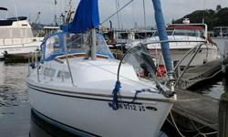 Perfect boat and location for Duckdodge, or sail to the Gulf Islands - this boat can do both!Sound Transit is a excellent Catalina 27, one of the most popular 27 footers ever built. This well maintained example, of a very popular cruising sailboat, has a