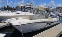 2006 World Cat 270 Tournament Edition for sale in San Diego, CA. Powered by twin Honda 225 VTEC 4stroke outboards with 1,210 hours. Full electronics package include Furuno NavNet w/Radar, Garmin GPS, Simrad autopilot, Icom VHF radio, and stereo. Sale