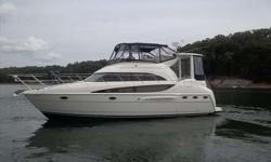 2008 Meridian 408 MOTOR YACHT Freshwater***Excellent Shape***Diesel Engines Only 190 Hours!!! 2008 Meridian 408 Motor Yacht on Lake Lanier. Powered by Twin Cummins Diesel 425 QSB Engines, only 190 hours! This freshwater Motor Yacht is loaded with