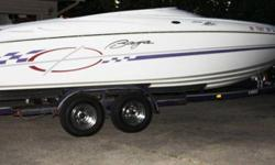 2000 Baja H2X (Boss Pkg.) Boat - 24ft/ 454 Motor comes with cover and tralier. Asking $28,295.00 or Best offer ! Very Clean, Fun and Fast ! Call or (click to respond) *CDUPU* Listing originally posted at http