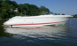 ?Only 225 Hours ?Custom Dual Axle Matching Trailer (new in 2007) ?Volvo 5.7 GSI (300hp) ?Dual Stainless Prop ?Captain?s Call Exhaust ?Snap In Carpet ?Open Bow ? Launch Model ?Full Boat Custom Mooring Cover ?Great Condition Inside & Out ?50+ MPH