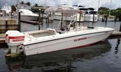 1988 Wellcraft 30 SCARAB Owner has taken excellent care of this offshore legend. She is painted inside and out with Awlgrip, nice custom gauge panel, 700 hours on her port engine and 30 hours on the starboard engine since power head was replaced. Custom