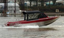 PRE-SEASON SPECIAL - NOW $28,995 OBO. Nice jet boat. Must see in person to appreciate. 5.7 Litre V-8 (TBI - Fuel Injected). Sought after Hamilton 212 jet drive. Low hours. Full canvas top. Tonneau storage cover. Deluxe seating. Kicker bracket Includes