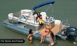 """2014 Qwest LS 820 Splash Pad by Apex Marine """"Only"""" $28,995.00 THE WORLD LEADER FOR COMPACT PONTOON BOATS *****Exceptional Quality****** We believe that quality is value. Meticulous fits and finish, the best welds, exceptional customer service -- in our"""