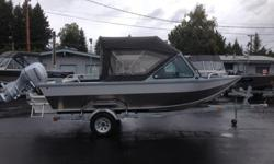 2013 Sea Predator 18 X 72 Honda BF90 Four Stroke Honda Tach With Hour Meter River Master Seats On Storage Boxes Large Bench Seats With Back Rests Full Top With Back Drop Bow And Stern Rails Down Rigger Brackets Bow Storage Box EX Large Fish Box Diamond