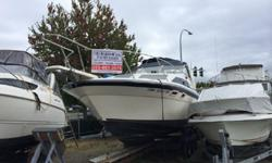 1986 2855 Bayliner Contessa, powered with TWIN Volvo 350CU.Inch V-8,This girl has a lot of punch. All of the expensive mechanical work has been done in the last year. New manifolds and risers. Complete tune up in the last 3 months. Everything works and