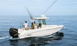 28? BOSTON WHALER 280 OUTRAGE 2009 FOR SALE? Located on the West Coast - Shipping Assistance Available.? Only 300 hours on Preferred Mercury Verado 4-stroke engines? Raymarine Electronics Package w/ radar, GPS Plotter, Digital Fish Finder? New Trailer