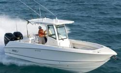 28? BOSTON WHALER 280 OUTRAGE 2012 FOR SALEVery light use on this 285 Conquest model powered by Mercury 250 Verado 4-stroke engines with only 370 hours on her original engines. Enjoy power steering, electronic engine controls and the latest electronics at
