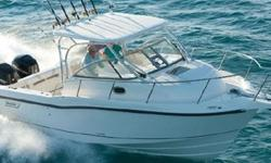 Visit www.BallastPointYachts.com for full specs and more photos. Powered by low hour Mercury 225 Verado 4-stroke engine package offering the exclusive Smart Craft color display with fuel consumption, engine monitoring, diagnostics. Verados engines include