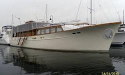 1960 66' de Vries LentschTwin Detroit Diesel EnginesHydraulic Bow ThrusterNaiad StabilizersMuch MoreContact Carroll Brower at (206) 915-4928 for more information.www.PacificRimYachts.com