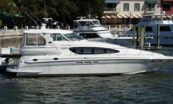 2002 Sea Ray 48 MOTOR YACHT ONE OWNER, SEA RAY 480 MOTOR YACHT! THIS BOAT IS PRICED TO MOVE AT ONLY 299,000! CALL TODAY TO SCHEDULE AN APPOINTMENT! This beautiful, and spacious 2002 Sea Ray 480 Motor Yacht is located in Hilton Head, S.C. This is a great