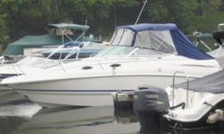 This 24? Chaparral 240 Signature is located in Brookfield, CT. This vessel is fantastic! A true Freshwater Boat with fresh water cooling - yet fully saltwater ready with her freshwater flush system!!! You will find this boat to be in fantastic condition