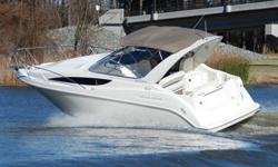 SUPER MINT 2001 Bayliner 2855 Ciera Sunbridge edition cruiser. This boat is in SHOWROOM condition and shows to have been extremely well maitained. Boat has primarily been kept in a covered slip. This one owner boat was ordered with many upgraded options