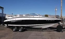 SUPER CLEAN BLUEWATER W/ VOLVO 5.7 GXI,VOLVO DUAL PROP,LOADED WITH EVERY OPTION THAT YOU WOULD WANT AND BLUEWATER BOATS OFFERED. FULL DETAIL JUST COMPLETED. HURRY BEFORE IT'S GONE.