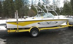 immaculate 2010 moomba outback with only 31 hours,upgraded stereo system,cover,gravity one ballast system, speed control,cover, and matching trailer.