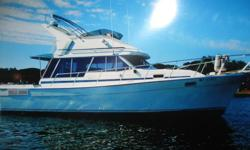 This 32' Bayliner model 3218 located in Bristol, RI. is priced $10,000 below average retail. She was recently surveyed and is found to be in good working order. She has been recently updated with 3 new batteries in July 2013, new exhaust hoses in July