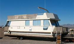 2 Pilot Helms - One Inside Cabin, One Up Top, Bimini Top, Shore Power, Generator, 2 A/C?s, Heater, Microwave & Stove, Refrige / Freezer, Ice Maker, SS Kitchen Sink, Front & Rear Patios w/ Port & Starboard Gates and Sliding Doors, Shower / Tub, Upstairs
