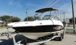 2008 Yamaha AR230 High Output 2008 Yamaha AR 230 High Output is a jet boat. Powered with twin Yamaha JF110 Jet motors with unknown hours. Compression is P215, 220, 225, 230 S 225, 225, 225, 225. Equipped with an aluminum ski tower, marine trailer, flip up
