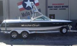 21? V-Drive family wakeboard boat with Indmar Predator motor 320 HPBoat Options Include