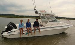 1996 Fountain Sportfish Cruiser with Trailer included in price SPECIFICATIONS