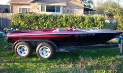 """1968 17"""" Plasif low profile jet boat. THis boat was an everyday runner last season. All the interior upholstery is brand new, it has a berkley stage 1 jet pump. it is set up for a small block chevy. everything is here except the engine. all manifolds"""