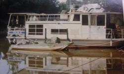 1967 32 feet Nautaline House Boat. Boat is at Green Turtle Bay Marina in Grand Rivers Ky 42045.asking 2,000.00 or best offer..Boat has not been pre-owned in 6 yrs but motor and generator was winterized after last pre-owned so yes they will run.Boat needs