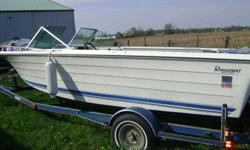 Very clean boat, Very low hrs at 149, hull is in excellent condition. Interior is very decent, needs a couple of the seats redone. Motor runs excellent, it is the Mercrusier 470/190 horse 4 cyl. Can hear it run. It is 19 foot long and 7 foot wide Open