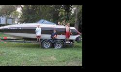 I have a boat that has no motor in it at all. the inside is red, white and blue. Let me know if interested