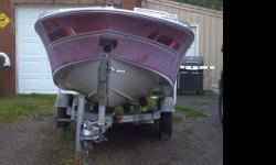 1987 Lanson Citation Bo Wrider 120 HORSEPOWER With Galvanized Trailer, 2.5 Citre Mercruiser I/O, new interior and service. Comes with jackets, paddles, tow rope, and tube, anchor etc. Ready to use, needs buffing. 2,000 OBO ask for Bob- or 215-6092Listing