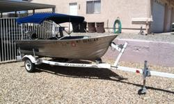 1988 Valco 12ft Aluminum Boat. Fish finder, 4.0 evin-rude motor, 3 benches, 2 nice fishing seats, comes with oars as well. EZ loader trailer with brand new tires. Also comes with custom Bimini.