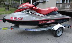 I have for sale a 2005 Sea Doo RXP 215HP Personal Watercraft in EXCELLENT CONDITION, with only 31 hours. I am the original owner and have changed the oil every 10 hours. Ski has been in fresh water only. It's FAST and a blast to ride. The trailer is