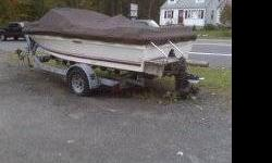 Sea Ray 17' x 7'; outboard engine