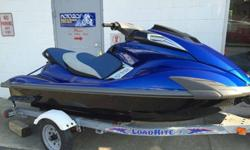 ...;;2009 YAMAHA FX SHO WAVERUNNER, SUPERCHARGED 1.8 LITRE 4 CYLINDER 4 STROKE ENGINE, ADJUSTABLE TRIM SYSTEM, CRUISE CONTROL, TILT STEERING, FRONT AND REAR STORAGE, 129 HOURS, BRAND NEW CUSTOM PAINT, SEAT COVER AND HYDRO TURF MATS, THIS WAVERUNNER IS A
