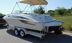 hkhkjhojkl...................Lake Ready 2001 Sea Ray 240 24' deck boat that the whole family and friends can enjoy. Ride above the rest, Sea Ray is known for its craftsmanship and quality and produce some of the best boats on the water today. This boat is