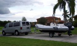 kkhgjhjk.....2005 AB Nautilus 15 Ft Deluxe RIB (Rigid Inflatable Bottom), this boat is in great condition & excellent working order, it has a 2005 Yamaha 60 hp 4-Stroke Engine, it's fast, starts right away and runs super smooth, the motor has under 150