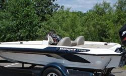 ,,,,175VS powered by a massive Mercury Optimax 115 horsepower outboard. Everyone knows that Ranger builds the best Bass boats in the world and when rigged with a Mercury optimax, fish don't stand a chance. The 175VS was designed for faster, shallower