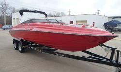 jgfhgj.....This unit was owned by a Reinell dealer who went out of business and was bought back by the factory and sold to us. The boat comes with all of it's remaining factory warranty that starts the day we sell it. Options include: Bimini Top, Tilt