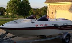 ,,,,,,,2008 Sugar Sand Tango Super SportManufacturer: Sugar Sand was a small jet boat manufacturer based in N. Dakota utilizing hand laid fiberglass hulls and Mercury power trains. They are like s SeaDoo only better built and more reliable. If you're