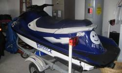 For sale a 1999 Yamaha gp800x very fast in great shape new battery, with trailer with spare tire, best deal in town cash offer only, no joy ride..Title in hand,two cylinder two stroke, with 2 life vest must sell soon,very clean in and out. starts right up