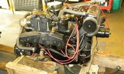 7.4 Mercury, early style, mechanical fuel pump, carbureted, fresh water cooling was added, needs valve job, reported low hours.$2,200.00