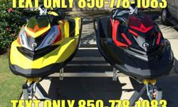 98765788I.................I am selling my two 2015 Sea Doo RXP-X 260 and 2015 Continental aluminum double trailer. I purchased these ski's and trailer from Barney's in Brandon, Florida, on March 31, 2015. Both ski's have a 48 month warranty. I have all