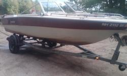You can be on the water as soon as today! This is a 1986 Peterborough Bowrider with a 170HP 4cyl Mercruiser I/O and Alpha 1 outdrive. I completely rehabbed this 4 years ago with all new flooring, new seats, new carpet and vinyl. All it needs is bow seats