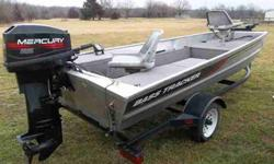 1997 Bass Tracker Pro fifteen Merc 25hp Tiller For Sale by McFadden Marine and Auto - El Dorado Springs, MissouriListing originally posted at http
