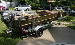 For Sale is a 2005 Combo BoatMotorTrailer Rig