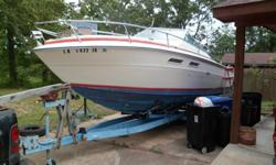 1974 Sea-Ray, 240 SRV. 6 Cyl Volvo Inboard, Motor Dont run, Cuddy Cabin With Trailer Call 318-308-1409