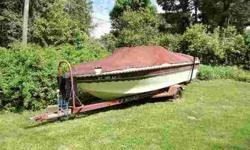 seats 9, full mooring cover and factory trailer, needs transmission work, otherwise in terrific condition.comes with rebuild kit, boats in like-new condition, low hours, $2400. (203) 994-1768 Danbury, CTListing originally posted at http