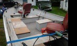 Very nice 14 ft Fishing boat. Spartan trailer, 25 HP Mariner, Live well fish/depth finder